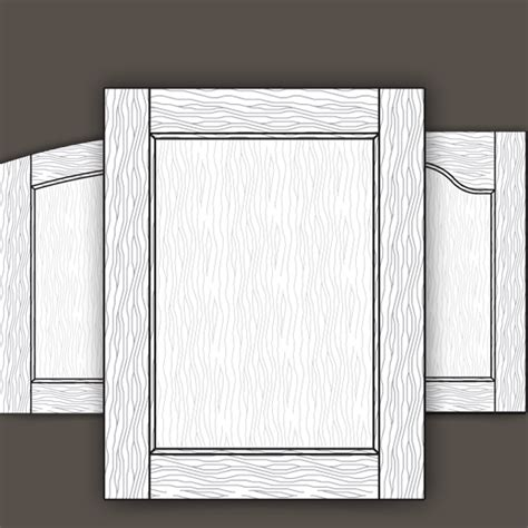Mortise And Tenon Cabinet Doors Traditional Mortise Tenon Veneered Flat Panel Door Styles Walzcraft