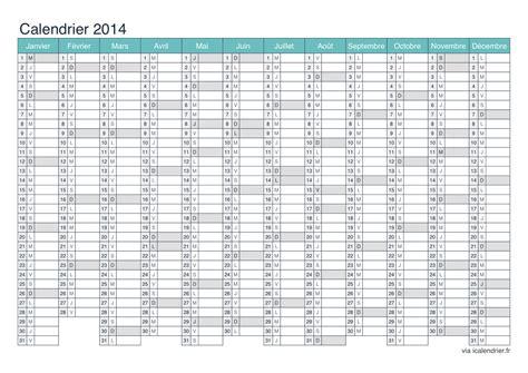 Calendrier Annuel 2014 Calendrier 2015 224 Imprimer Pdf Et Excel Icalendrier Fr