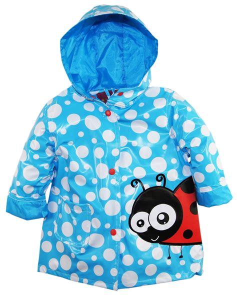 Oz Sweater Polka Abu wippette waterproof vinyl polka dot with ladybug raincoat jacket ebay