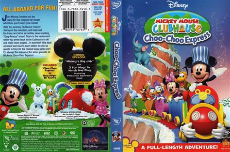 mickey mouse clubhouse dvd menu
