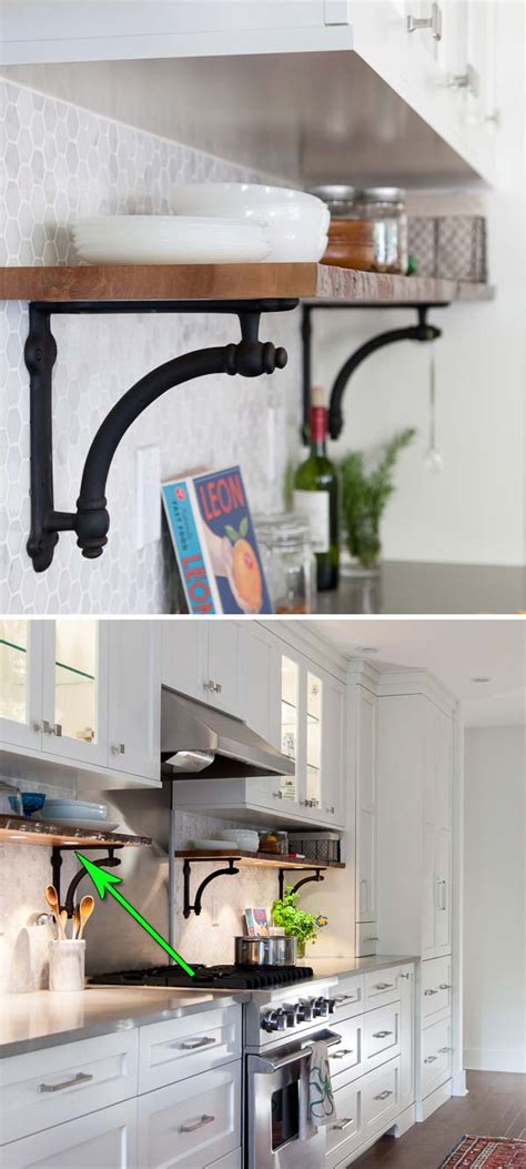 kitchen rack ideas interesting and practical shelving ideas for your kitchen
