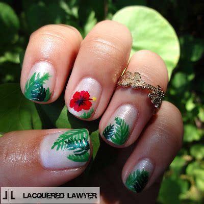 ideas  hawaiian nail art  pinterest