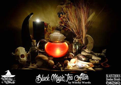 black magic review witchy words blackthorn hoodoo blends black magic review