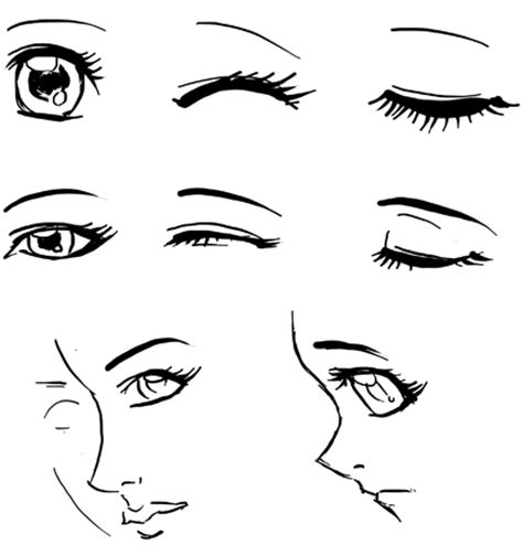 menggambar mata anime ferry nurdiansyah
