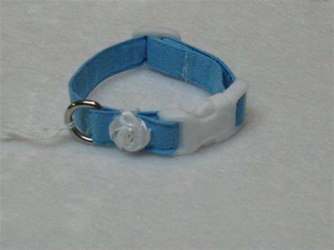 shih tzu collars summer blue pet accessories xxs collars maltese shih tzu yorkie