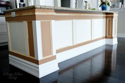 kitchen island makeover diy kitchen island makeover glam living