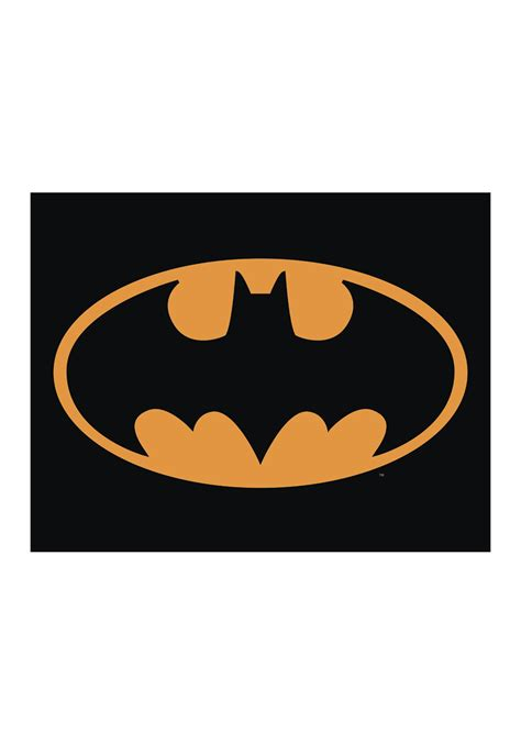 Garage Office batman logo tin sign