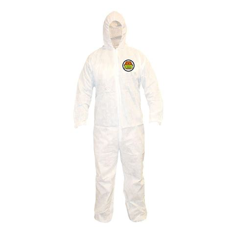 home depot paint coveralls cordova c max 2x large white coveralls with attached