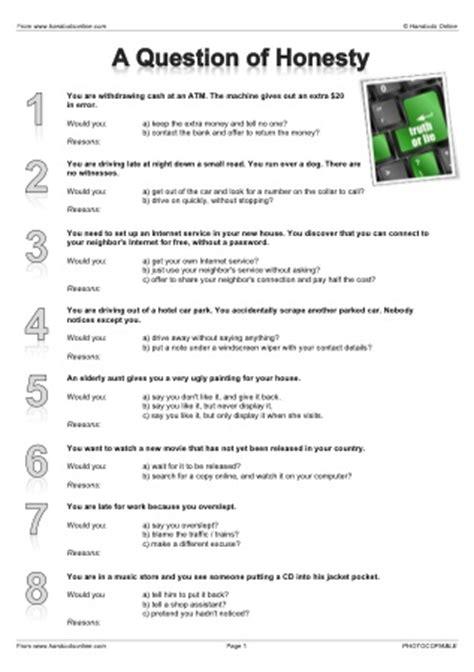 Honesty Worksheets For Adults all worksheets 187 honesty worksheets for adults printable