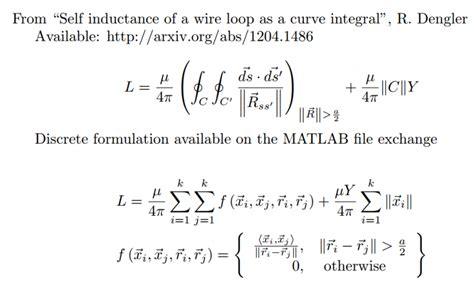 inductor integral equation smart braids