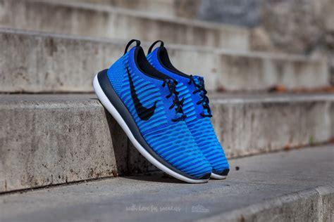 Nike Flyknit Racer 2 0 Blue Lagoon nike roshe two flyknit gs racer blue black photo blue