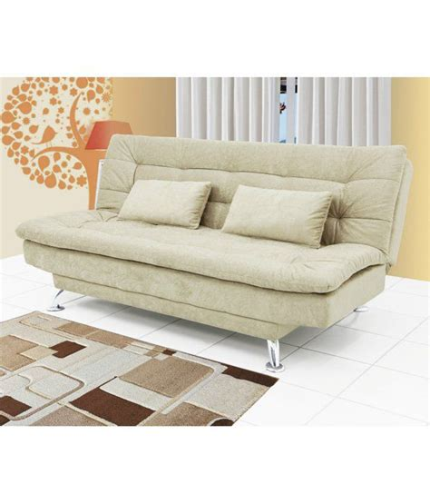 sofa cum bed india online sofa cum bed in beige buy online at best price in india