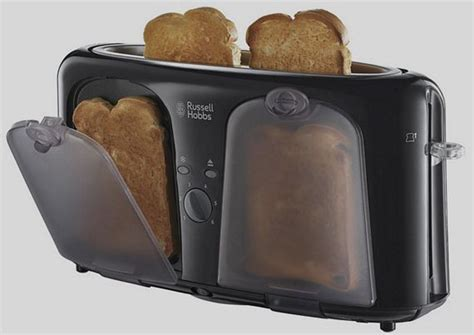 Space Saving Toaster Russel Hobbs Easy Toaster