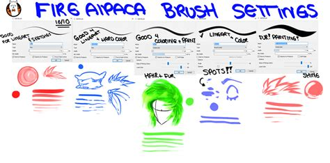 firealpaca lineart tutorial firealpaca brush settings by ohitskim on deviantart