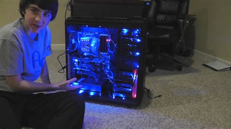 led lights pc computer lights ram and