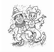Grappige Carnaval Kleurplaten  Leuk Voor Kids