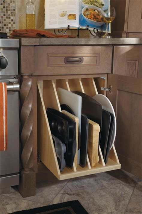 dynasty tray divider pullout traditional kitchen