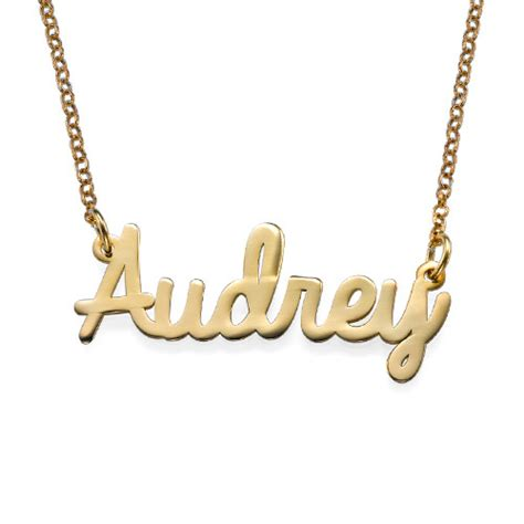 personalized gold jewelry personalized jewelry cursive name necklace in 18k gold plating mynamenecklacecanada
