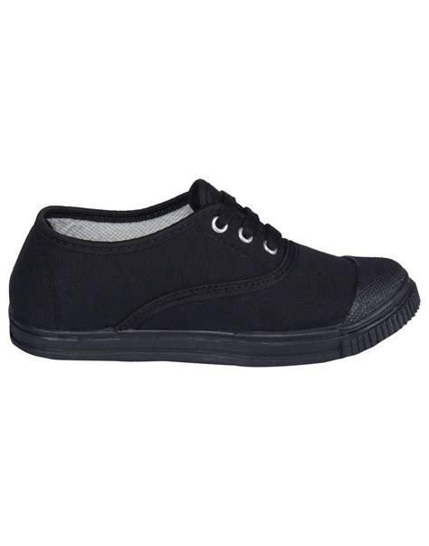 black tennis shoes tennis shoes black rex shoes