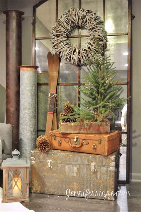 pinterest rustic home decor best rustic pinterest decorations for christmas holidays