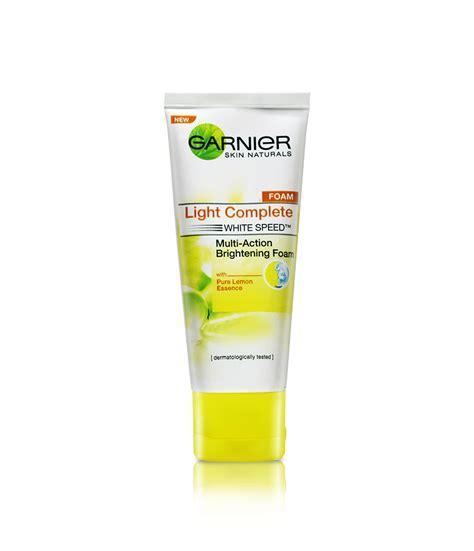 Garnier Power White Foam 50ml garnier light complete multi brightening foam lemon essence 50ml pharmacy