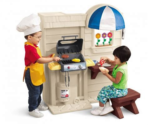 Tikes Play Kitchen And Grill by Tikes Inside Outside Cook N Grill Kitchen