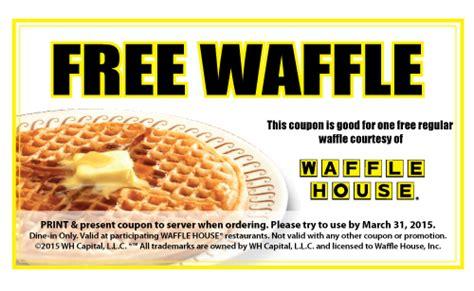 waffle house veterans day free waffle at waffle house freestuff com