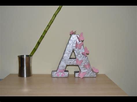 como hacer una decoracion de la cueva de batman en reciclaje c 243 mo hacer una letra de cart 243 n para decorar facilisimo