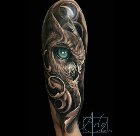 owl half sleeve tattoo 17 best ideas about owl sleeves on owl