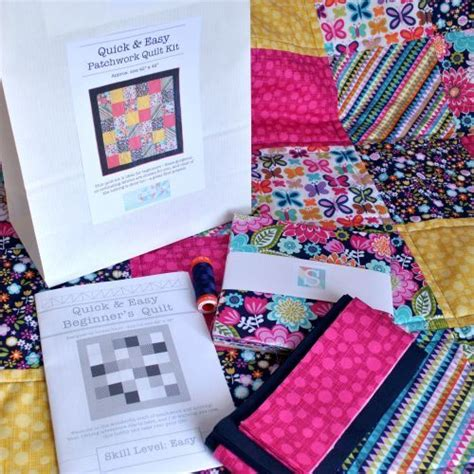 Patchwork Quilt Kits For Beginners - 17 best images about quilt kits pre cuts on