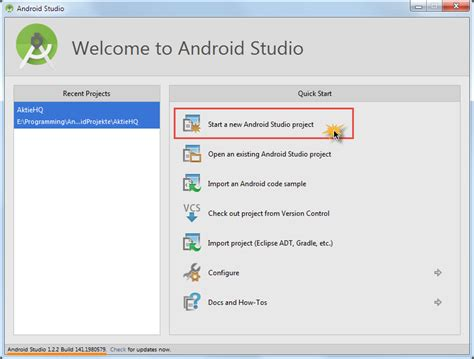 android sql android sqlite tutorial teil 1 sqlite projekt anlegen