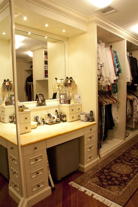 desk in walk in closet house lane master walk in closet make up table