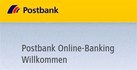postbank onlinebanking excite de