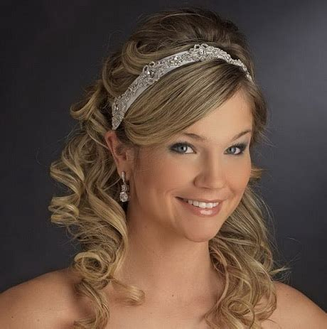 headband curly hairstyles wedding hairstyles with headband