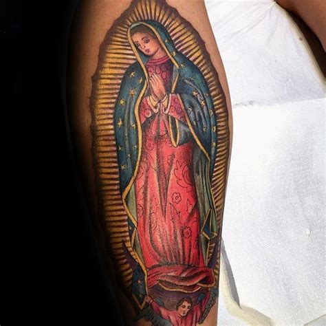 lady of guadalupe tattoo 50 guadalupe designs for blessed
