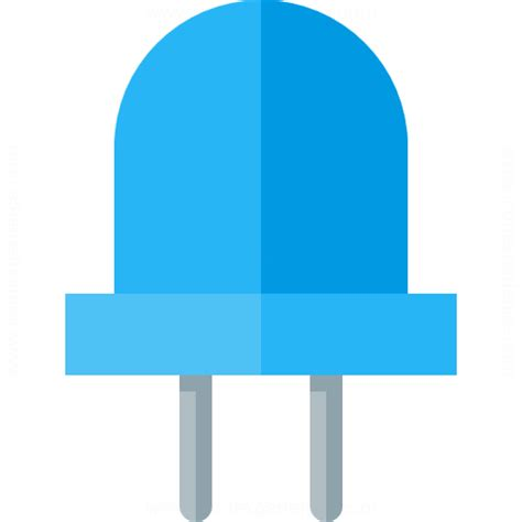 Led Blue Light Bulb Iconexperience 187 G Collection 187 Led Icon