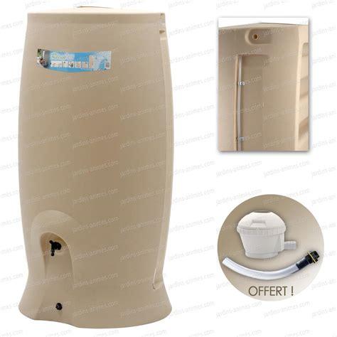 recuperateur eau de pluie 1000 litres 2384 r 233 cup 233 rateur eau de pluie 1000 l beige