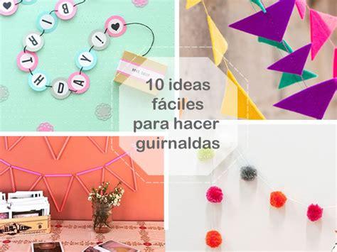 como se hacen las cadenas con papel crepe 10 ideas f 225 ciles y bonitas para hacer guirnaldas