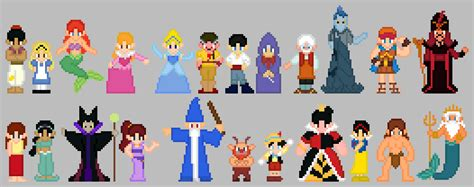 Scd 0403 Disney Only kingdom hearts sprites part 2 by thuhjesheekuh on deviantart