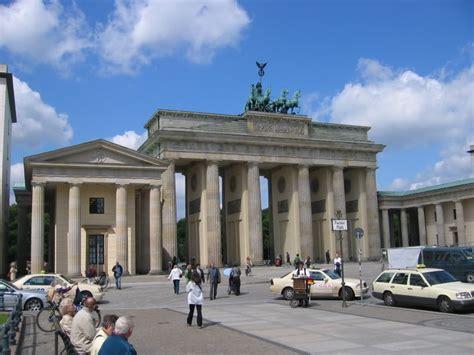 porte di brandeburgo porta di brandeburgo il mondo fra le