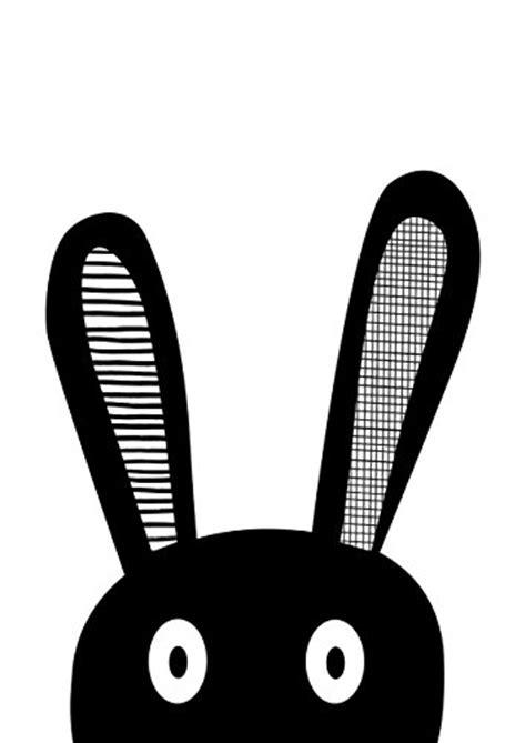 kinderzimmer schwarz weis ᐅᐅ kinderzimmer poster hase selfie schwarz wei 223
