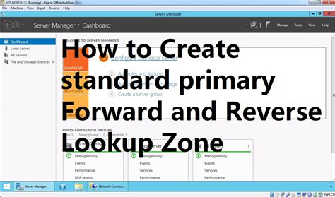 Forward And Dns Lookup 6 How To Create Primary Forward And Lookup Zone In Windows Server 2012 R2