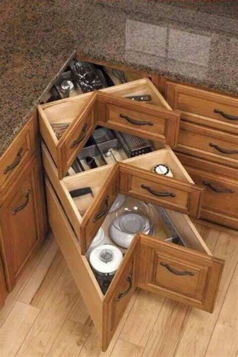 Lazy Susan With Drawers by Corner Kitchen Drawers Not Lazy Susan House Plans