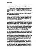 On The Sidewalk Bleeding Essay Conclusion by On The Sidewalk Bleeding Continuation Gcse Marked By Teachers