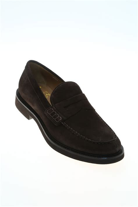 brown suede loafers suede brown suede loafer doucal s