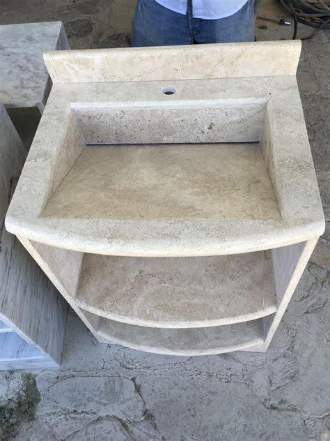 lavabo precio lavabo de marmol travertino 5 800 00 en mercado libre