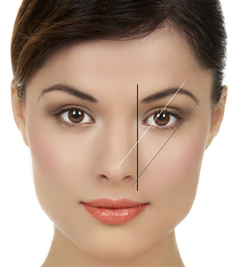 eyebrow arching shape you eyebrows naturally at home