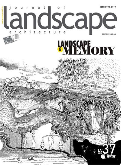 Landscape Journal Journal Of Landscape Architecture Issue 37