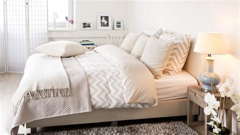 Sprei 180 X 200 Arco shop hier je zachte witte boxspring m 233 t korting westwing