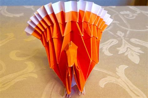 Thanksgiving Turkey Origami - origami turkey for turkey day origami and craft